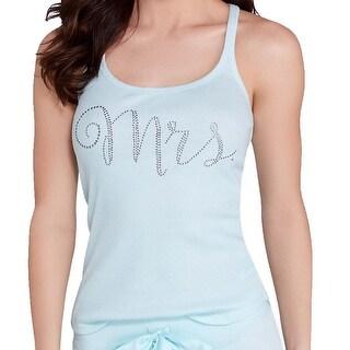 Betsey Johnson NEW Blue Womens Size Large L Mrs. Sleepshirt Sleepwear 302