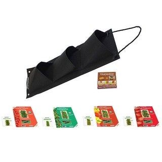 Link to Hanging Vegetable Garden Seed Kit with Soil Block - 4 Options Similar Items in Gardening