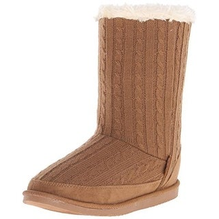 Northside Womens Teegan Knit Mid-Calf Casual Boots