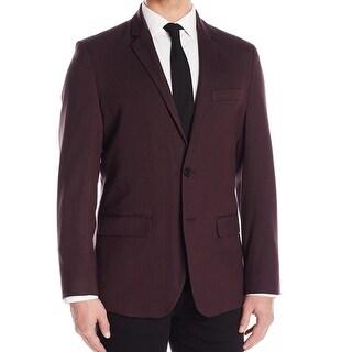 Kenneth Cole Reaction NEW Purple Plum Men Large L Two Button Blazer
