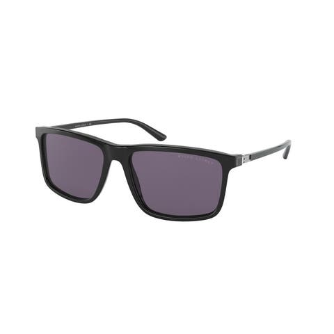 Ralph Lauren RL8182 50011A 57 Shiny Black Man Pillow Sunglasses