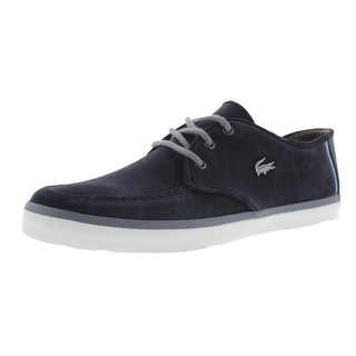 Lacoste Mens Sevrin 10 Leather Casual Fashion Sneakers - 11 medium (d)