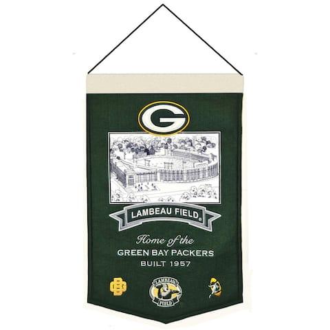 Green Bay Packers Lambeau Field Banner