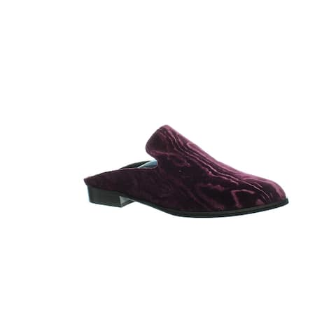 Robert Clergerie Womens Alicetn Purple Mules Size 10