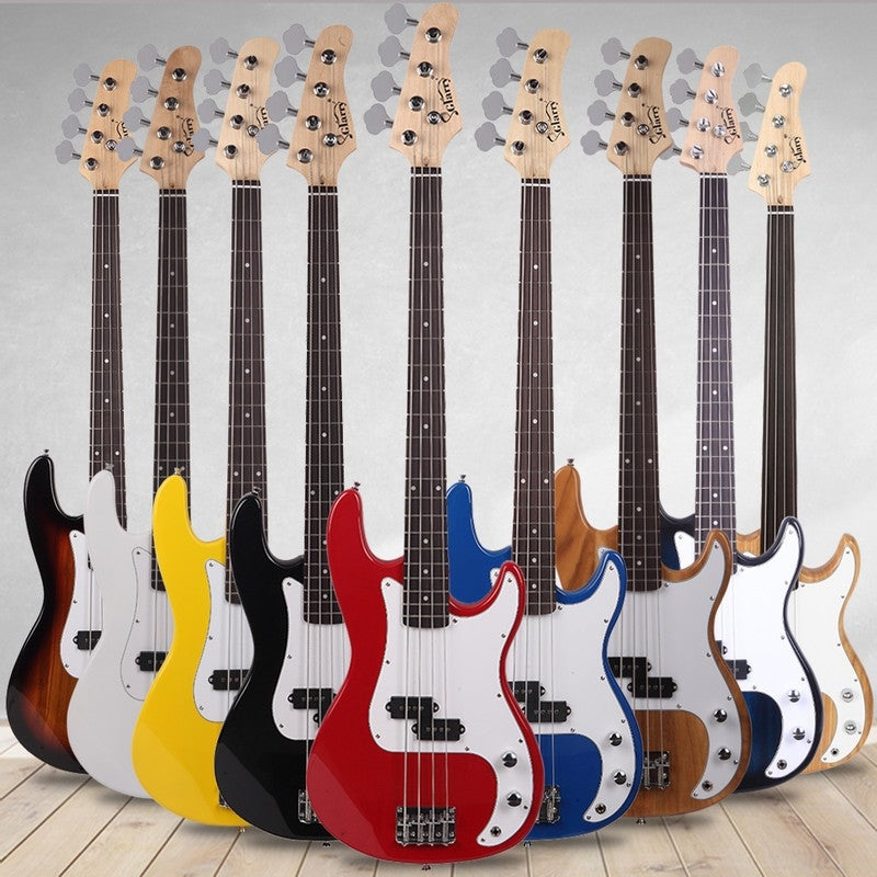 Exquisite Stylish IB Bass with Power Line and Wrench Tool Black Chic Bass Guitars Ideal Christmas Thanksgiving Holiday Gift