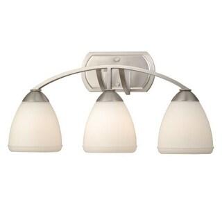 Vaxcel Lighting HS-VLD003 Helsinki 3 Light Bathroom Vanity Light - 10.5 Inches Wide