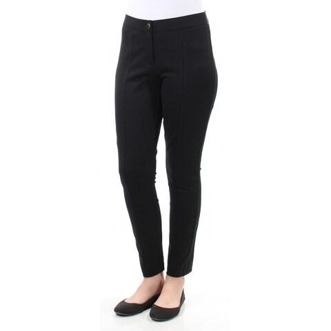Womens Black Wear To Work Leggings Size 8