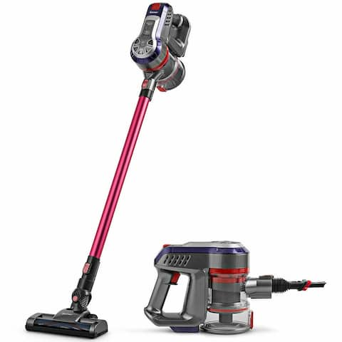 16 kPa Cordless Vacuum Cleaner 6 in 1 Rechargeable Battery - Pink - Onesize