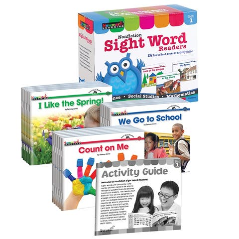 Nonfiction Sight Word Readers St 1 Early Readers Boxed St - Multi