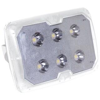TACO LED Spreader Light w/SS Adjustable Tilt Mount & Clamp - White Housing
