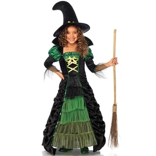 Leg Avenue Storybook Witch Child Costume - Green