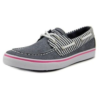 Sperry Top Sider Bahama Youth Moc Toe Canvas Boat Shoe
