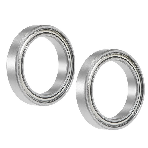 6702ZZ Deep Groove Ball Bearing 15x21x4mm Double Shielded GCr15 Bearings 5pcs - Pack of 5 - 6702ZZ (15*21*4)