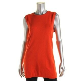 Lauren Ralph Lauren Womens Cotton Hidden Back Zipper Pullover Sweater - L