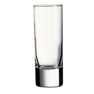 Palais Glassware Heavy Base Shot Glass Set of 6 2 Oz. Clear.