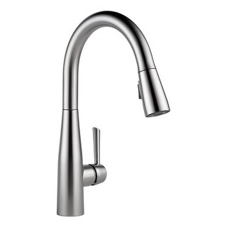 Delta 9113-DST Essa Pull-Down Kitchen Faucet with Magnetic Docking Spray Head - Includes Lifetime Warranty