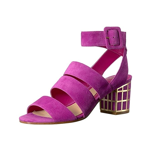 c4a1df56dffa Shop B Brian Atwood Womens Baily Dress Sandals Suede Block - Free ...