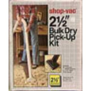 Shop-Vac 8017800 Bulk Dry Pickup, 2.5""