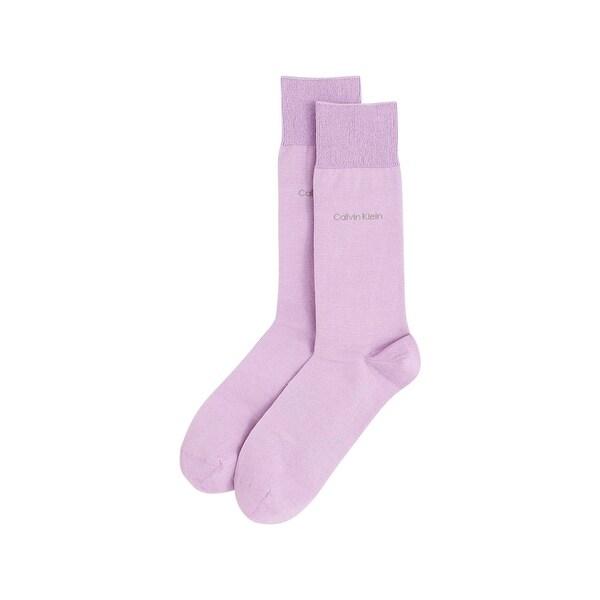 Calvin Klein Mens Dress Socks Egyptian Cotton Trouser - 7-12