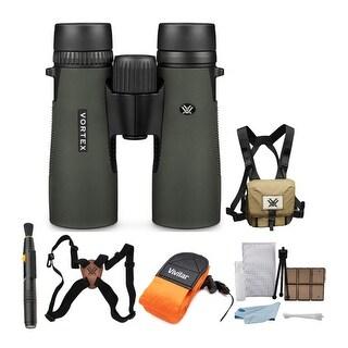 Vortex 10x42 Diamondback HD Binoculars with Harness and Accessory Kit