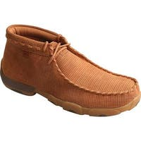 Twisted X Boots Men's MDM0065 Driving Moc Saddle Leather