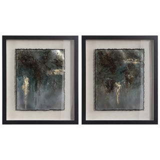 Link to Uttermost Rustic Patina Framed Prints (Set of 2) Similar Items in Art Prints