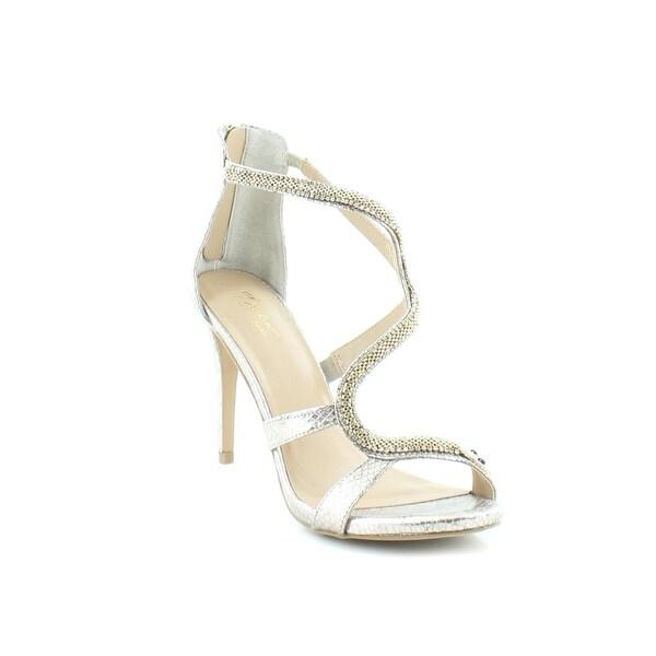 Thalia Sodi Nieva Women's Heels Champagne Snake - 9.5