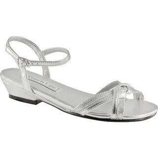 Touch Ups Girls' Melanie Jr Silver Metallic