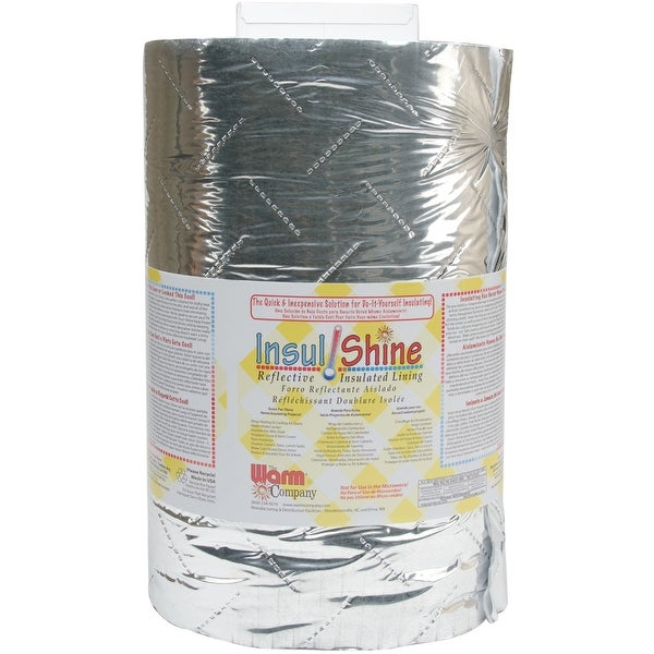 "Insul-Shine Reflective Insulated Lining-45""X10yd FOB: MI"