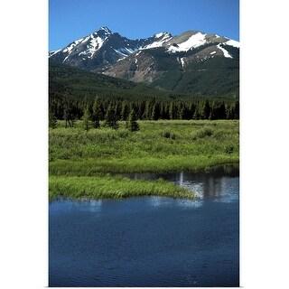 """Rocky Mountain National Park, Colorado"" Poster Print"