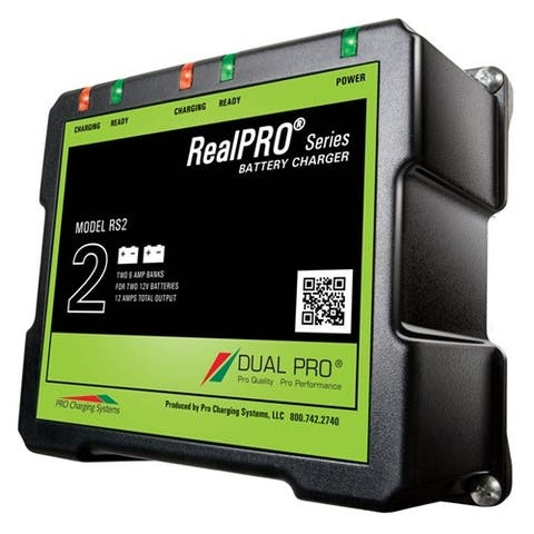 Dual Pro RealPRO Series Battery Charger - 12A Battery Charger