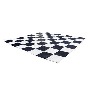 Plastic Grid Garden Chess Board - Multicolored