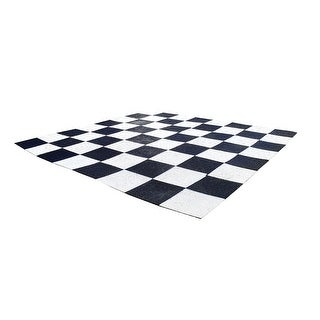 Plastic Grid Garden Chess Board - Multicolored