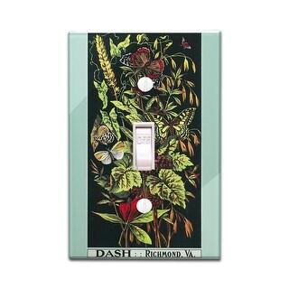 Richmond, Virginia - Dash Brand Tobacco - Vintage Label (Light Switchplate Cover)