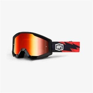 100% Percent - Goggle - Strata Slash - Mirror Red Lens - 50410-076-02