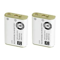 Replacement Battery For VTech DM251-102 Cordless Phones - 102 (800mAh, 3.6V, NiMH) - 2 Pack