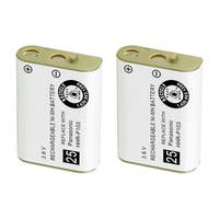 Replacement For VTech TL26413 Cordless Phone Battery (800mAh, 3.6V, NiMH) - 2 Pack