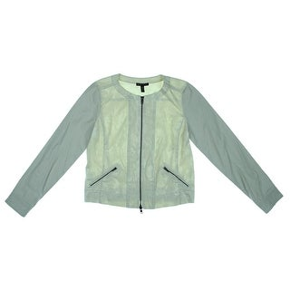 Eileen Fisher Womens Jacquard Croped Jacket - M