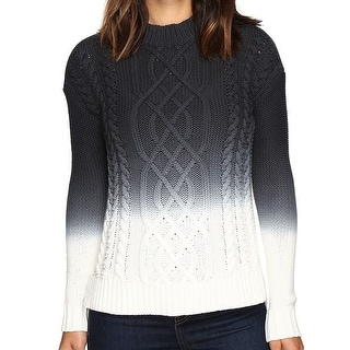 Calvin Klein NEW Blue Ombre Women's Size Small S Crewneck Sweater