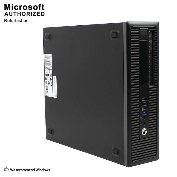 HP EliteDesk 800G1 SFF Intel Core I5 4570 3.2GHz 8GB RAM 1TB HDD DVD W10P(EN/ES)-1 Year Warranty(Refurbished)
