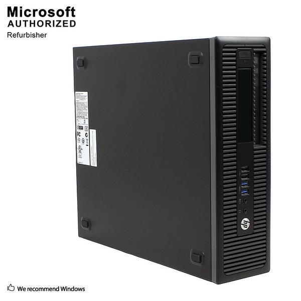 HP 600G2 SFF Intel i5-6500 3.20GHz, 8GB RAM, 360GB SSD, DVD, WIFI, BT 4.0, HDMI Adapter, VGA, DP, WIN10P64(EN/ES)-Refurbished