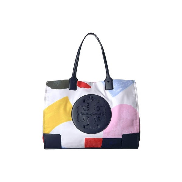 03137c13356 Shop Tory Burch Ella Printed Tote - Free Shipping Today - Overstock ...