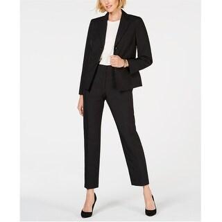 Link to Le Suit Womens 2 Button Pant Suit, Black, 4 Similar Items in Suits & Suit Separates