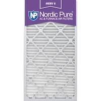 Nordic Pure 14x30x1 Pleated MERV 8 AC Furnace Air Filters Qty 3