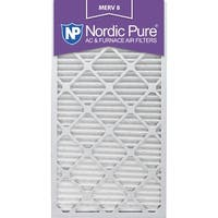 Nordic Pure 14x30x1 Pleated MERV 8 AC Furnace Air Filters Qty 6