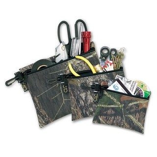 CLC 1100M Mossy Oak Camo multi-Purpose Zippered Bag Set