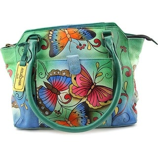 Anuschka 7204 Leather Shoulder Bag - Multi-Color