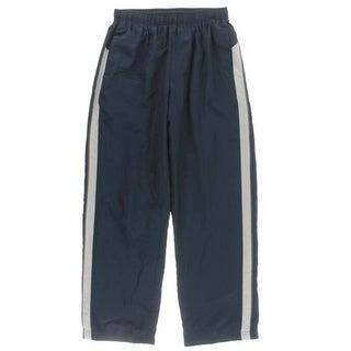 TEK Gear Boys Juniors Athletic Pants Water Resistant Side Stripe - L