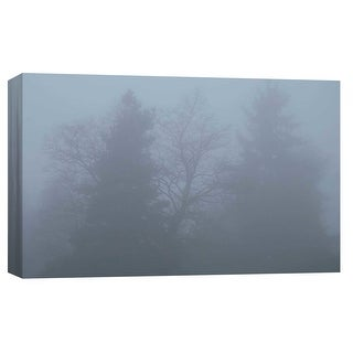 """PTM Images 9-103747  PTM Canvas Collection 8"""" x 10"""" - """"Foggy Morning 2"""" Giclee Forests Art Print on Canvas"""