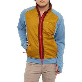 La Sportiva Spire Jacket Basic Jacket Sea Blue/Nugget